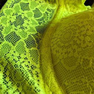 Victoria's Secret Other - Neon yellow Victoria's Secret Bra
